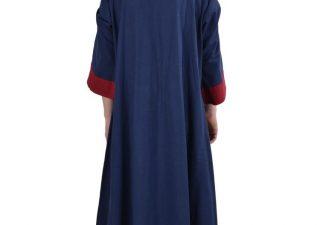 Viking Jurk 6e - 9e eeuws Blauw/Rood