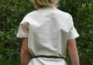 Mittelalter-Tunika / Leibhemd für Kinder, naturfarbe Mass 146 