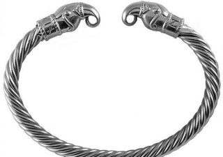 Viking Odins Raven Armband in Zilver