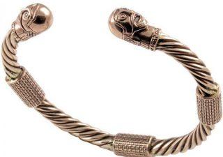 Viking Oseberg Armband in Brons