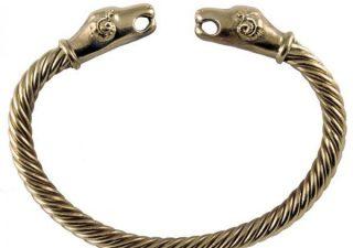 Viking Ramskop Armband in Brons