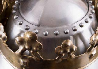 Grote Koninklijke Pothelm met Kroon, 1.6 mm