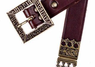 replica riem Deense Koning Erik ca. 1450 zwart
