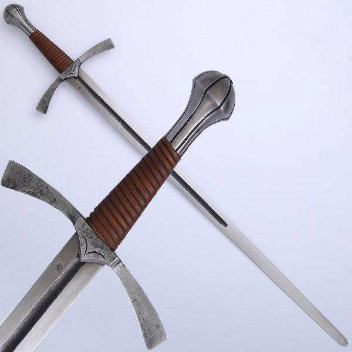 Mittelalter Einhander Schaukampf Schwert 15Jh.