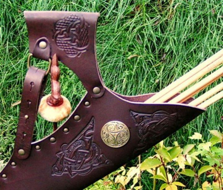 Keltische Pijlenkoker Bruin