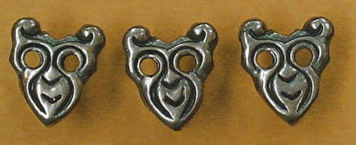 Viking Riembeslag Polen 10e eeuw Brons
