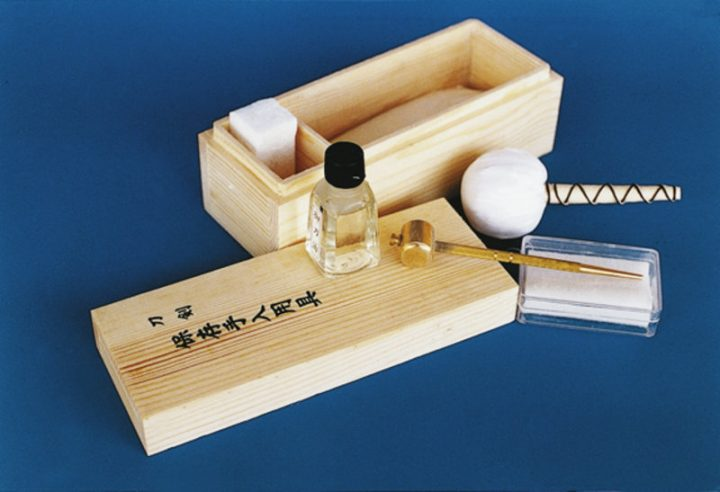 Maintenance kit for Samurai swords HS-51509
