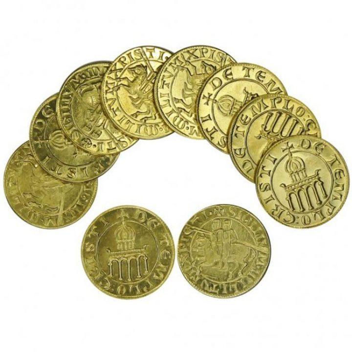Tempeliers Denarius munten