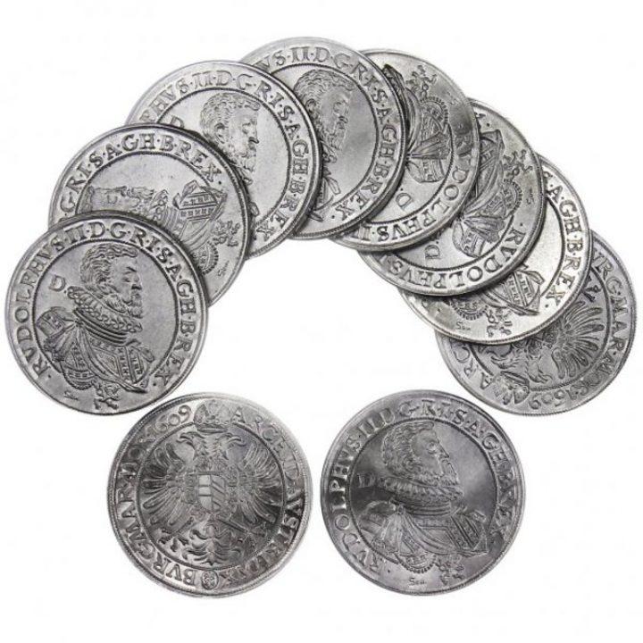 Thaler van Rudolf de II 1576-1612 munten