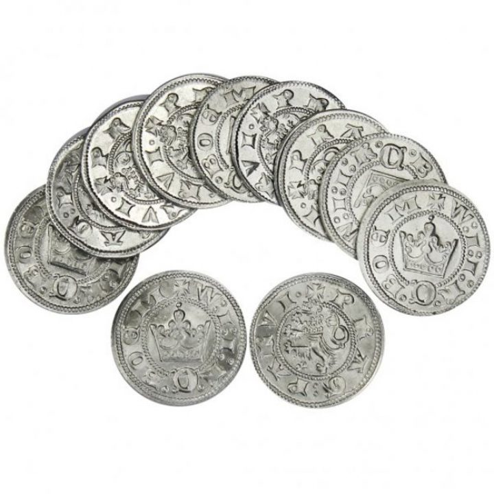 Wenceslas II, Parvus 1287-1384 munten hvbam-1005