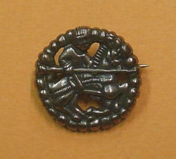 Viking Gokstad Fibula Noorwegen X.A.D.