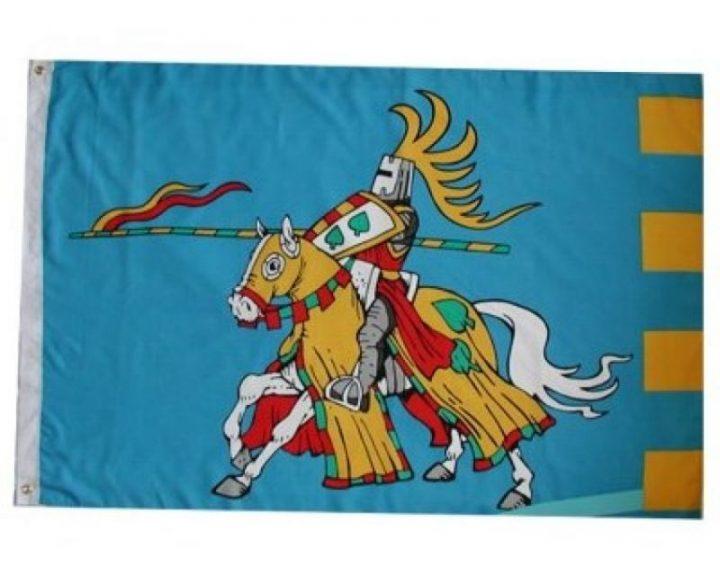 Ridder te Paard Vlag FP-2196