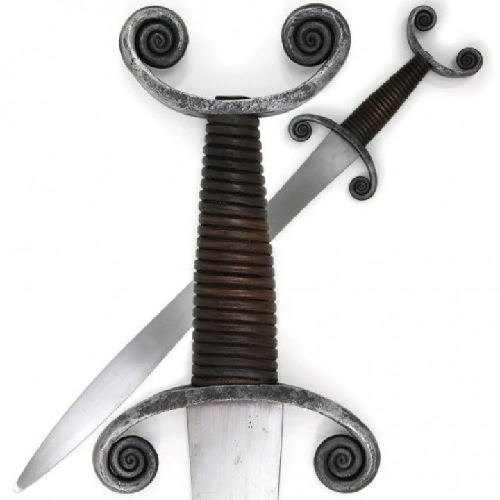 Keltischer Schwert hvmo-3541