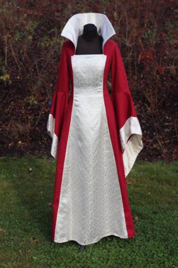 Mittelalter Hochzeitkleid
