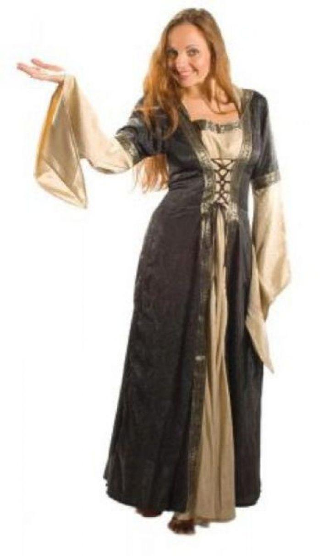 Mittelalterkleid dunkel