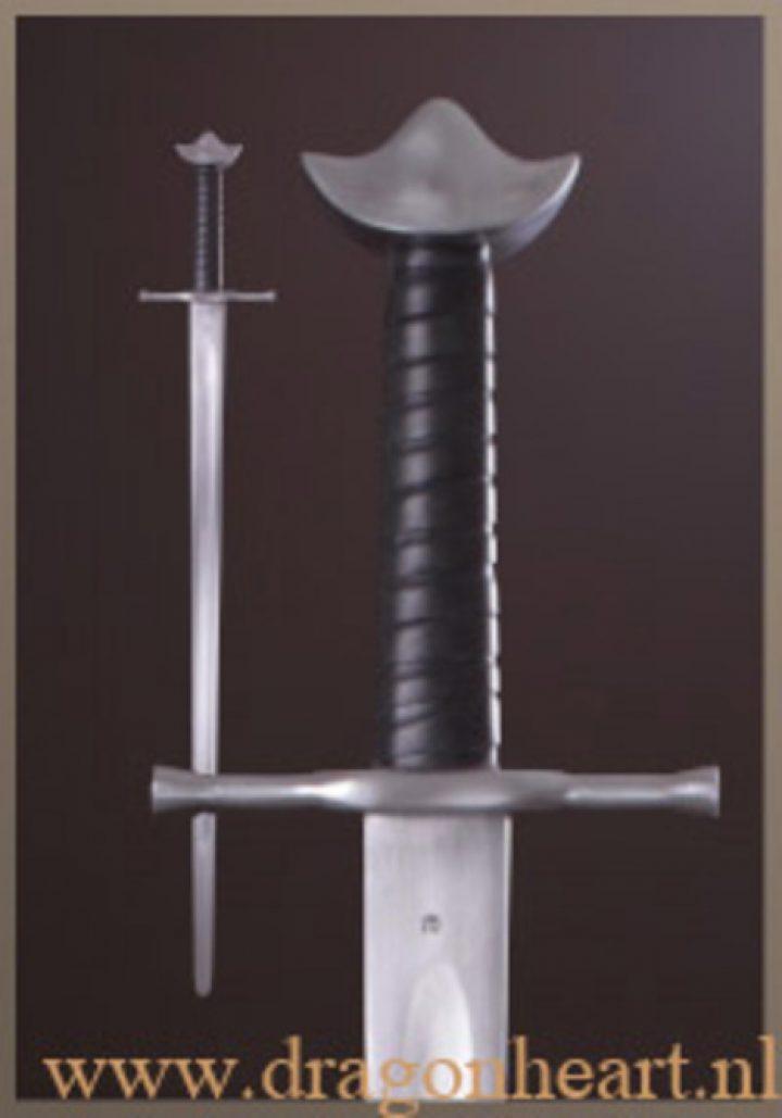 1 hand zwaard 13e eeuw