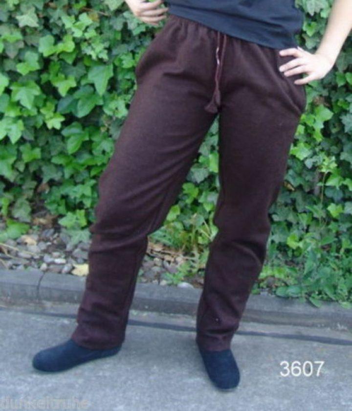Middeleeuwse Wollen Broek Bruin