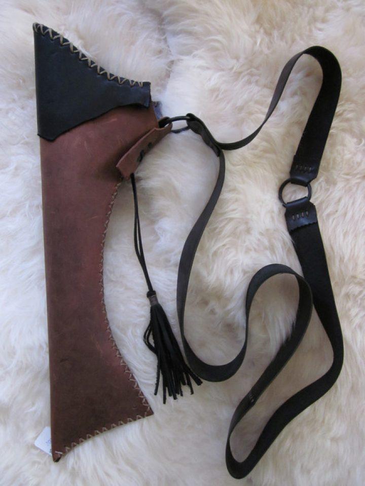 Pijlenkoker handmade voor aan de zij DH-001