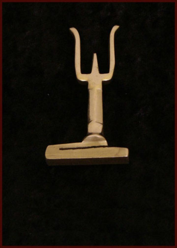 Romeinse Houder voor metaal pluimen