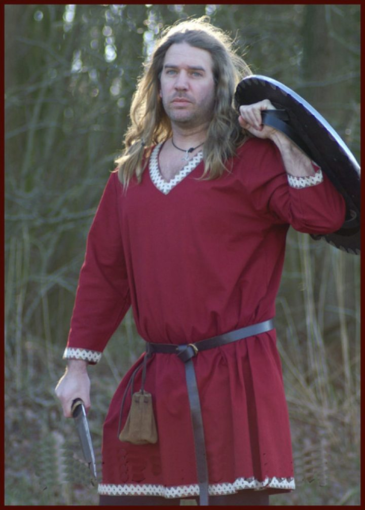 Viking Tuniek in Rood