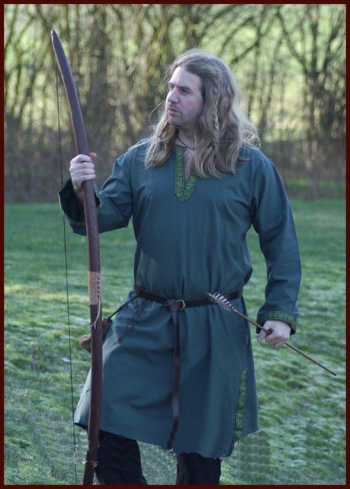 Middeleeuws - Tuniek Groen