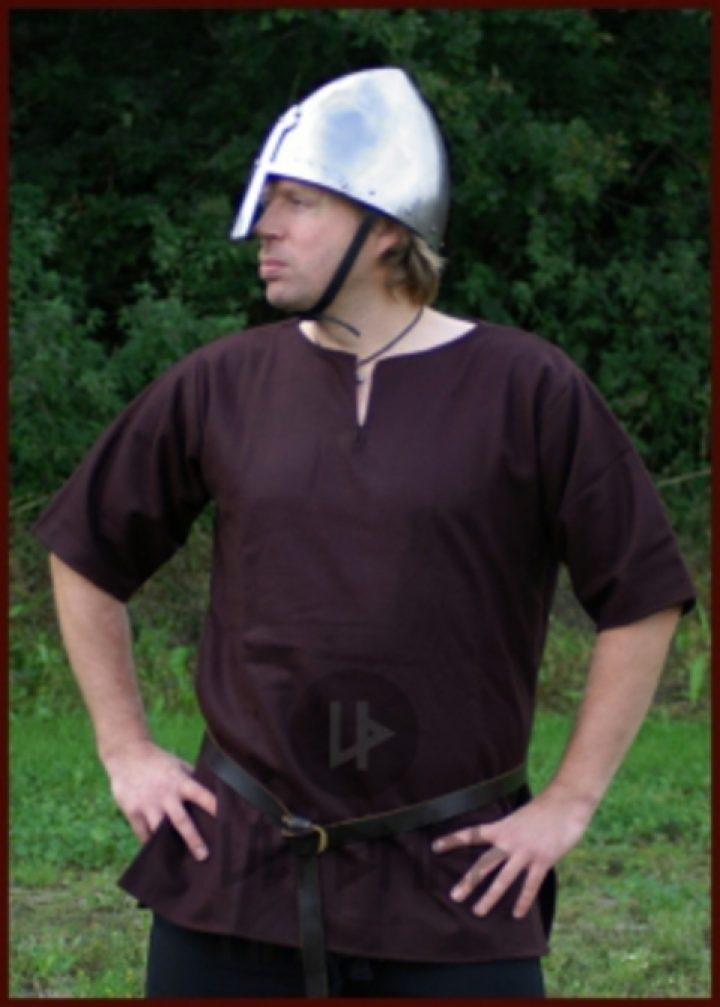 Viking Tuniek Wol, in Bruin