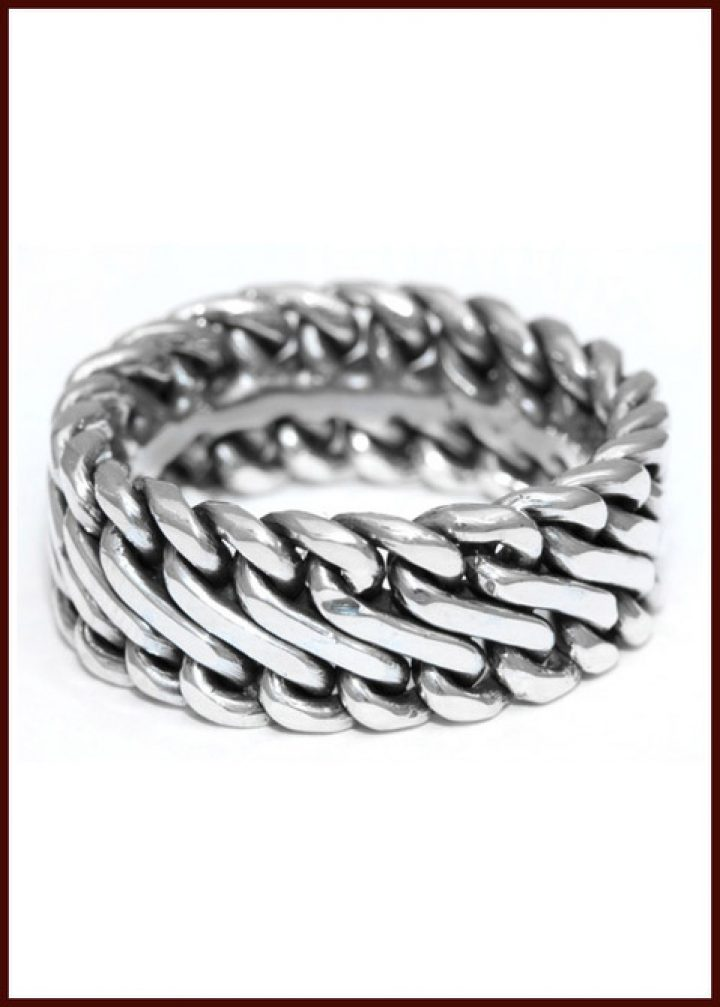 Viking ring zilver