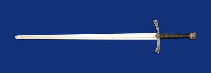 1 hand zwaard Graff Piere de Dreux 12 e eeuws