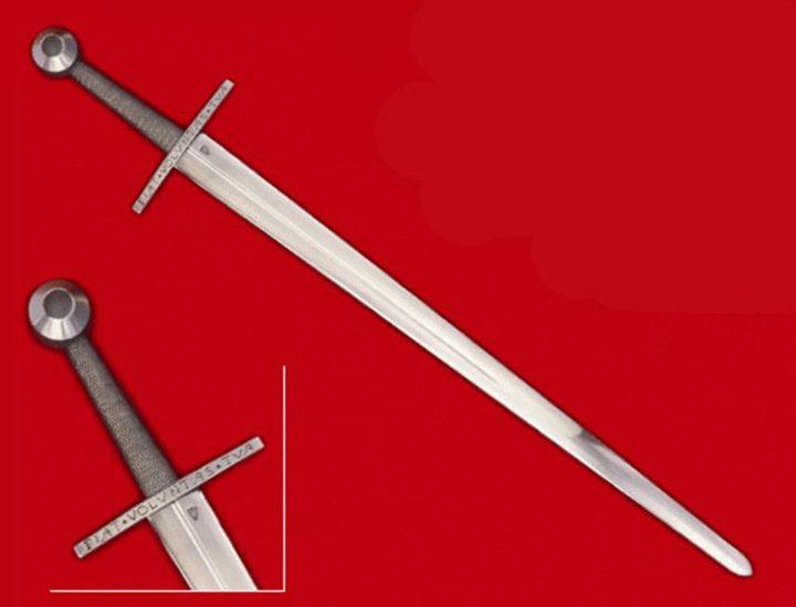 1 hand zwaard 15 e eeuws