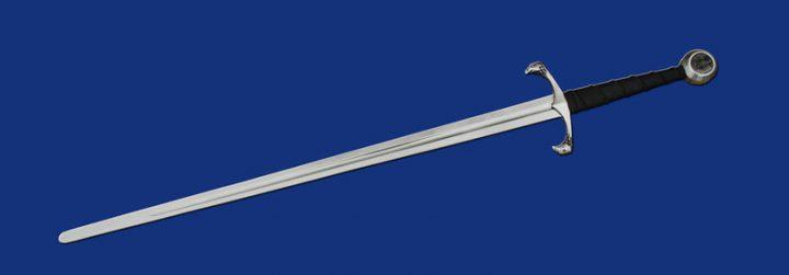 Mittelalter Anderthalbhänder Schaukampf Schwert 14Jh.