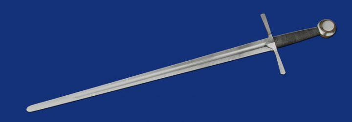 1 hand zwaard 14e - 15e eeuws
