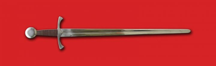1 hand zwaard XIV-XV