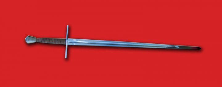 Gotisch 1.5 hand zwaard XIV-XV