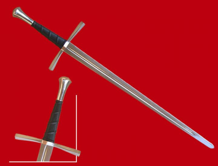 Mittelalter Anderthalbhänder Schaukampf Schwert 15Jh. 