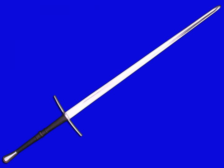 Gotisch 2 hand zwaard 15e eeuws