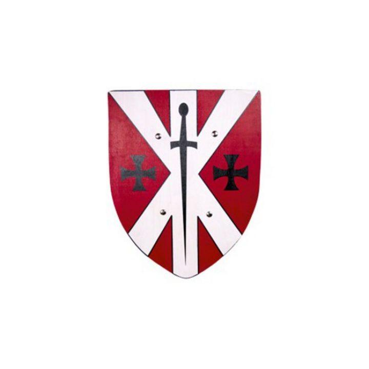 Ridder schild Rood-Wit 37x39cm HSD-53562