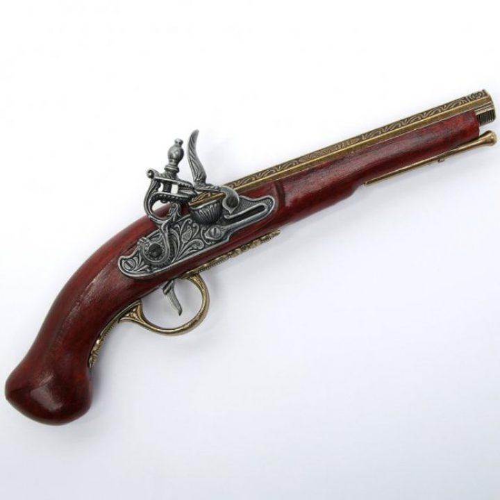 Steenslot Pistool van 1781 uit Parijs HSD-64134