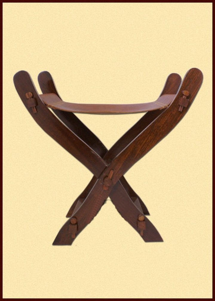 Mittelalterlicher Scherenstuhl