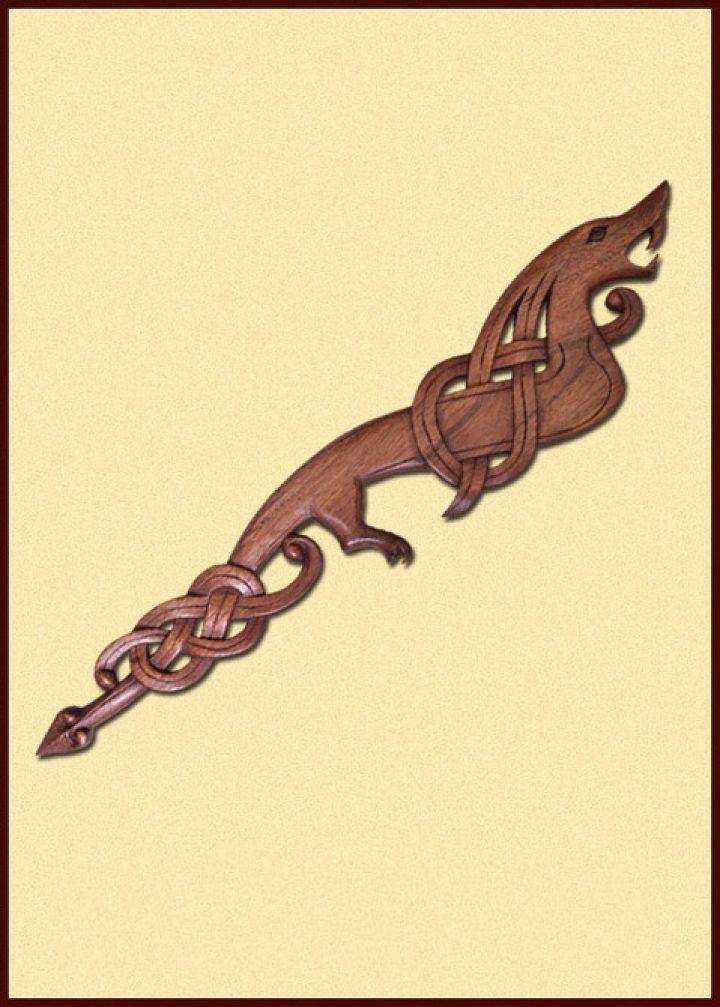 Viking Draak rechts kijkend