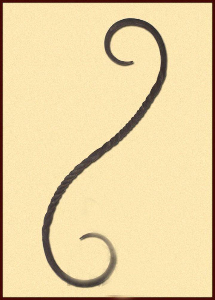 S-Haak 29 cm gesmeed