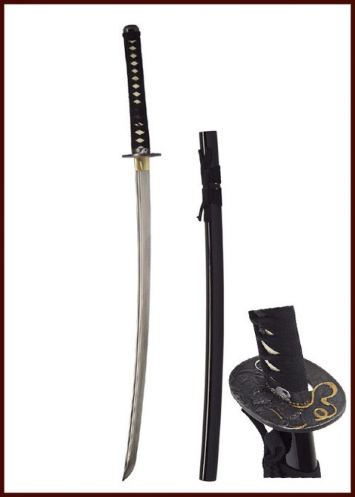 John Lee Shintai Katana, Damaststruktur