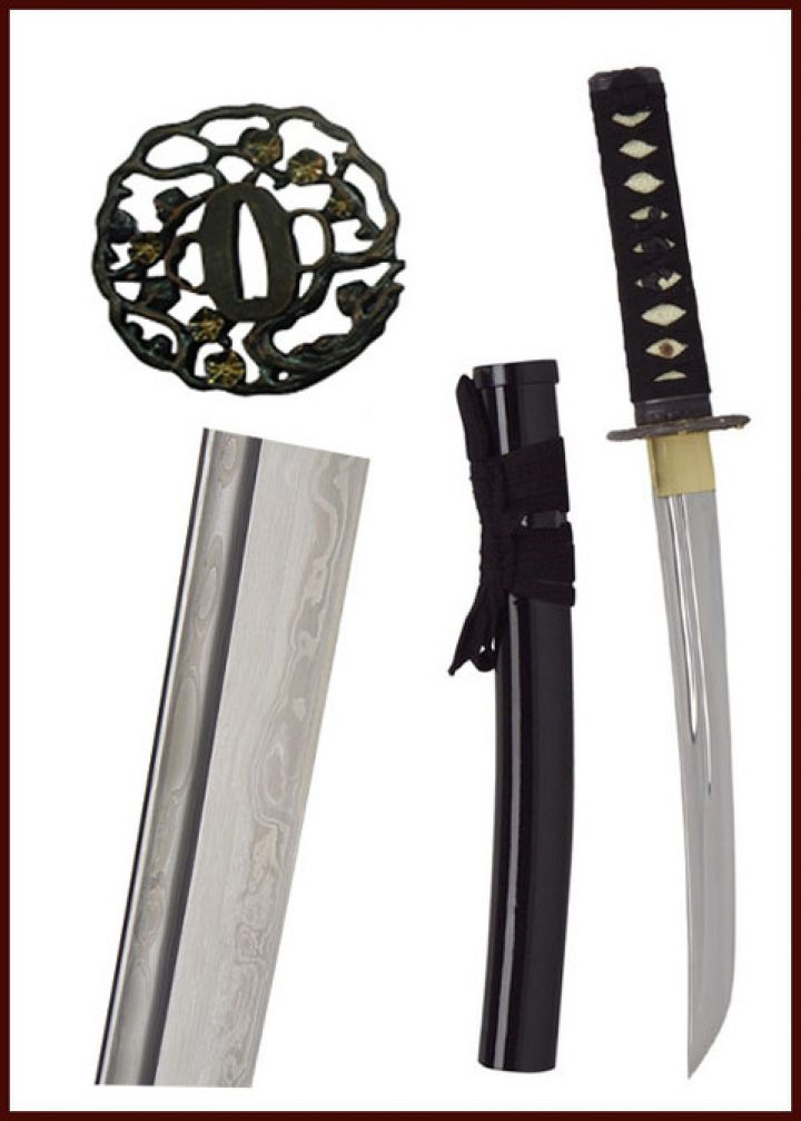 John Lee Golden Flower Tanto