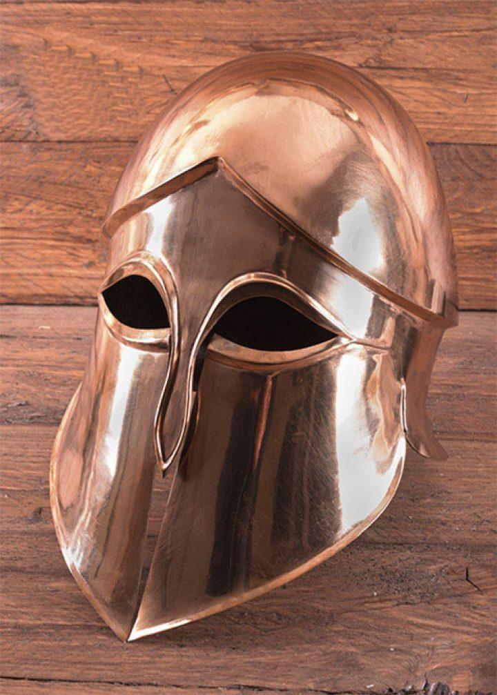 Korinthische Helm van Brons
