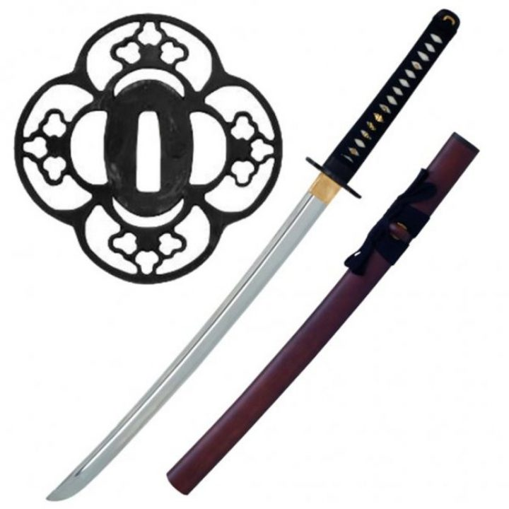 John Lee Red Wood Laito Wakizashi