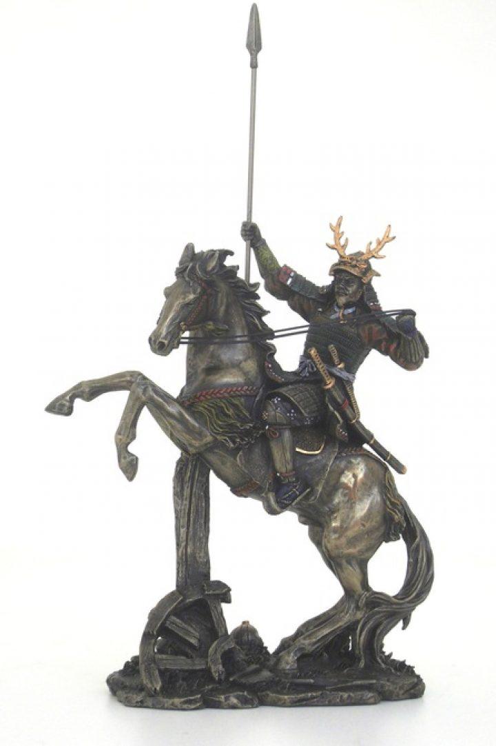 Samurai mit Pferd IF-SR-71600