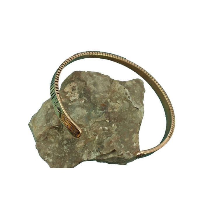 Viking Gotland Armband Replika Brons 17 cm