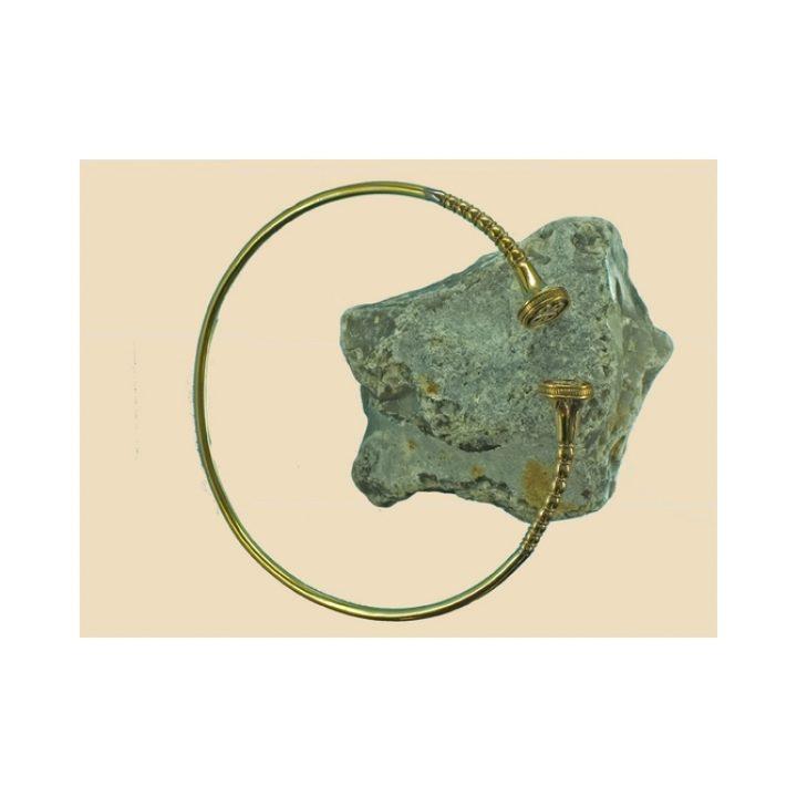 Keltischer Torque Bronze