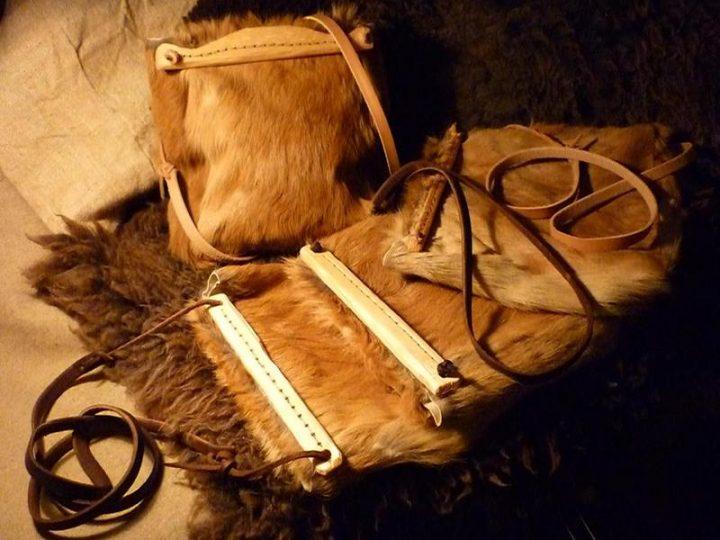 Viking Herten Lederen tas