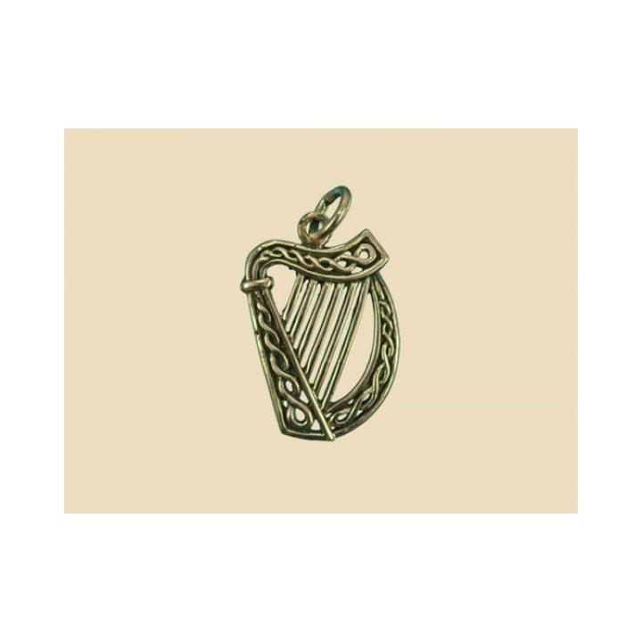 Irishe Harp Anhanger Bronze Gross VCCP-32