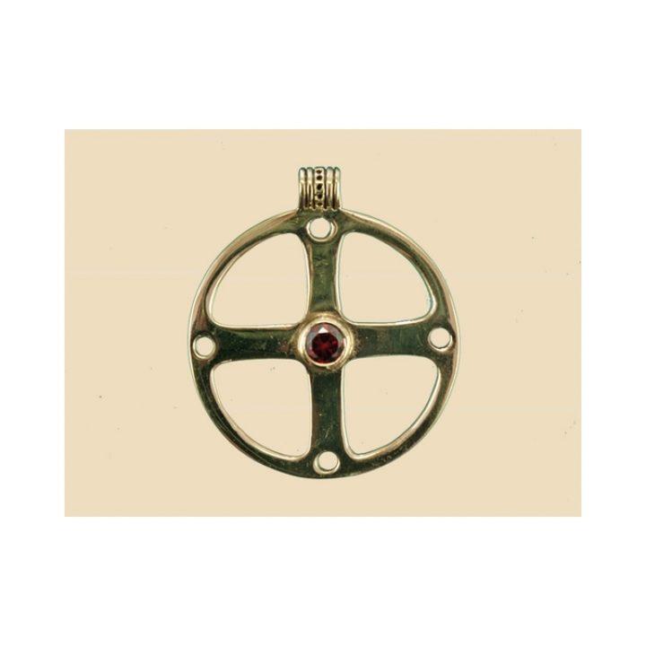 Keltisch Wiel Hanger Brons